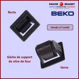 Gâche de support de vitre de four Beko 250100063 CYB-098229