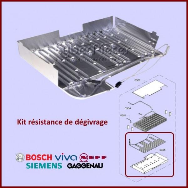 Kit résistance de dégivrage Bosch 00643997
