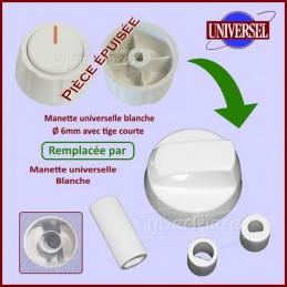 Manette blanche universelle pour cuisinière CYB-133524