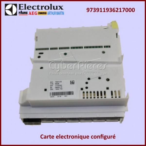 Carte electronique configuré Electrolux 973911936217000