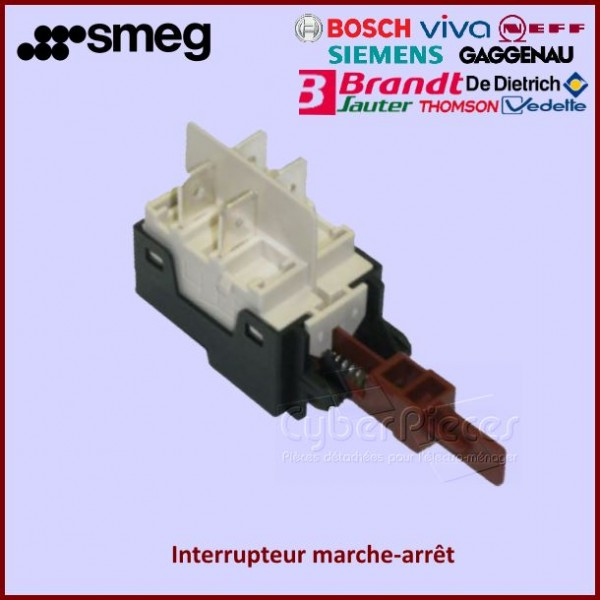 Interrupteur clavier Smeg 816450164
