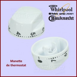 Bouton Thermostat Whirlpool...