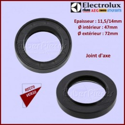 Joint d'axe 47x72x11,5/14mm...