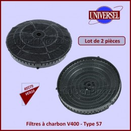 Filtre à charbon 175x42mm...