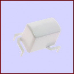 Bouton blanc Electrolux...