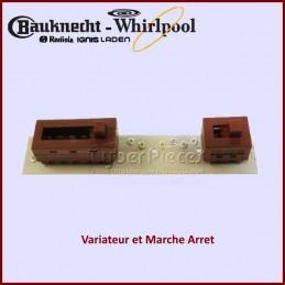 Variateur et Marche Arret Whirlpool 481221478342 CYB-181068