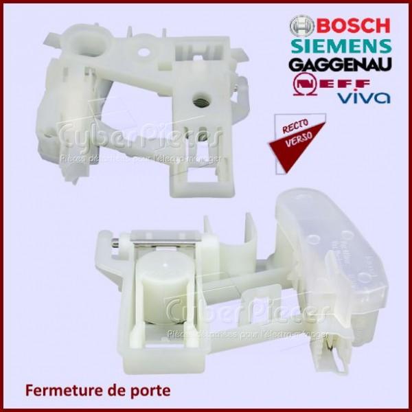 Compatible Bosch Sèche-linge BLANC Poignée de porte WTS84507GB//03; WTS84507GB//05