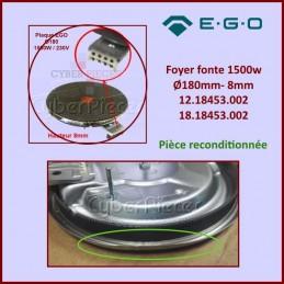 Foyer fonte 1500w / 230v - Ø180mm- 8mm 12.18453.002 Ego CYB-129824