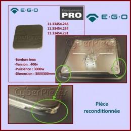 Plaque Restaurant 300X300 3000w 400v E.G.O 11.33454.248 OCAS-017640