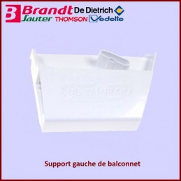 Support gauche de balconnet Brandt AS0000645 CYB-268332