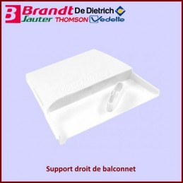 Support droit de balconnet Brandt AS0000644 CYB-268325