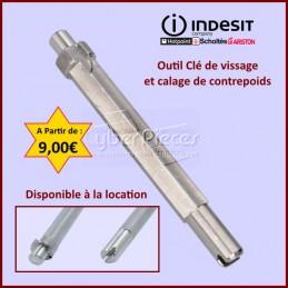 Outil Clé de vissage et calage de contrepoids Indesit C00284698 CYB-252416