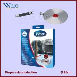 Disque induction Diam 26cm Avec Temoin De Temperature CYB-020664