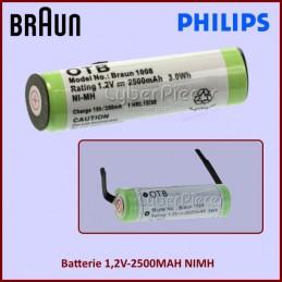 Batterie 1,2V-2500MAH NIMH CYB-166645