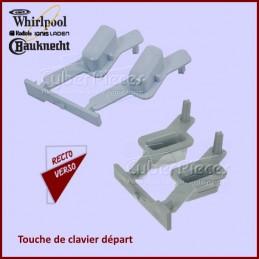 Touche de clavier départ (droite) Whirlpool 481071425341 CYB-431200