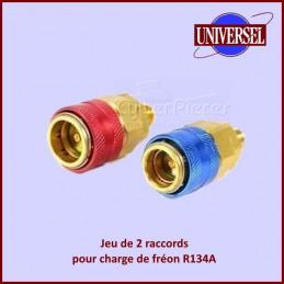 "Jeu Coupleur R134A B.p./h.p.auto QC-12 1/4""SAE CYB-044042"