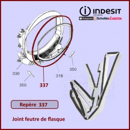 Joint de flasque Indesit C00258575 CYB-168458