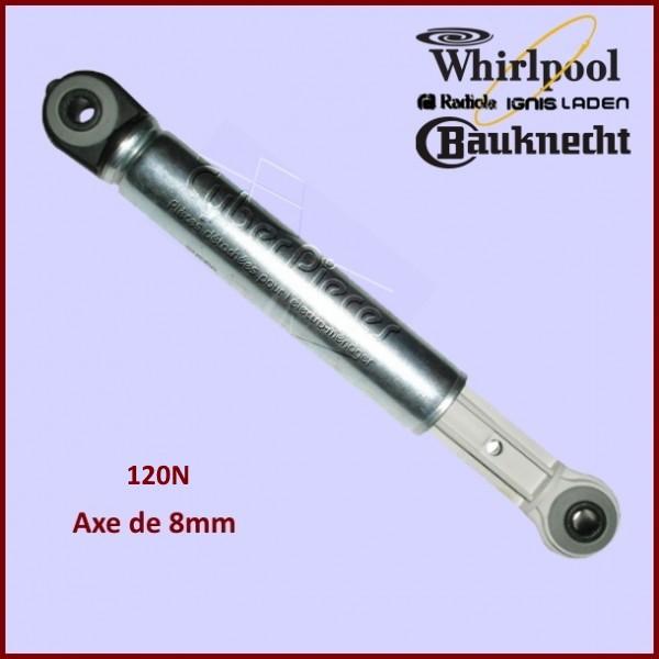 Amortisseur Amortisseur Bauknecht Whirlpool 480111102361 pour machine à laver 2 pièces