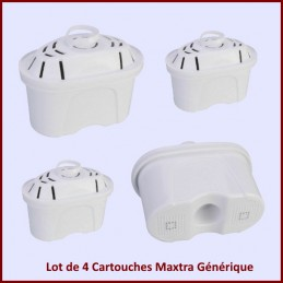 Lot de 4 Cartouches Brita Maxtra Générique CYB-032780