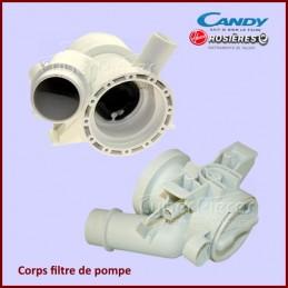 Corps filtre de pompe Candy 49007895 CYB-209878