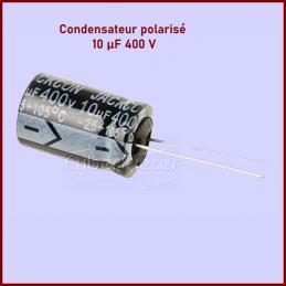 Lot de 10 Condensateurs RS PRO polarisés 10μF 400V c.c CYB-261081