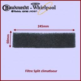 Filtre Split climatiseur Whirlpool 481248028066 CYB-017343