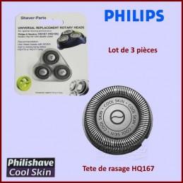Tete de rasoir PHILIPS HQ167 COOLSKIN x3 CYB-036054