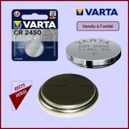 Pile bouton lithium CR2450 3V CYB-235747