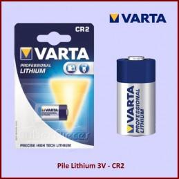 Pile Lithium 3V - CR2 (appareil photo) CYB-235785