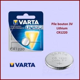 Pile bouton 3V Lithium CR1220 CYB-235815