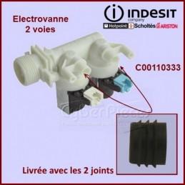 Électrovanne 2 voies à 90° Ø 10 mm à connecteur C00110333 CYB-142120