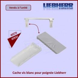 Cache vis (blanc) pour poignée Liebherr 7426362 CYB-097109