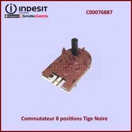 Commutateur 8 positions Tige Noire C00076887 CYB-050371