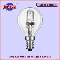 Ampoule globe eco halogene 42W E14 2000H CYB-238281