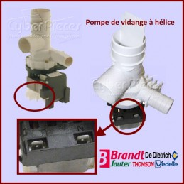 Pompe de vidange à hélice Brandt L71A000A1 CYB-114707