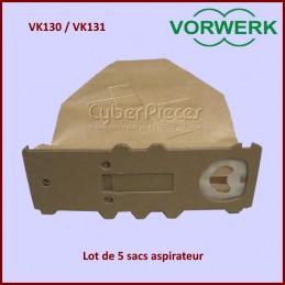 Lot de 5 sacs aspirateur VORWERK CYB-228442