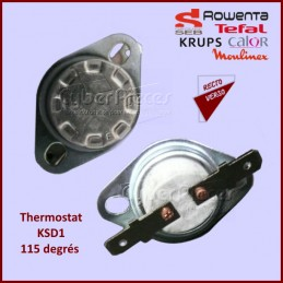 Thermostat KSD1-115 degrés Moulinex SS-201768 CYB-190329