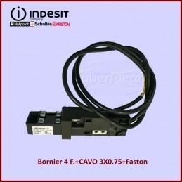 Bornier 4 F.+CAVO 3X0.75+Faston C00297819 CYB-401159