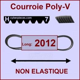 Courroie 2012H7 non élastique CYB-414326