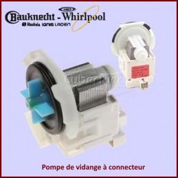 Pompe de vidange à connecteur Whirlpool 481236018558 CYB-008938