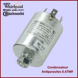 Condensateur antiparasites 0.47ΜF Whirlpool 481212208003 CYB-179614