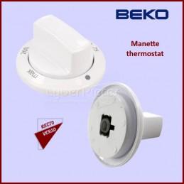 Bouton de thermostat Beko 250315077 CYB-135191