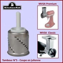 Râpe à julienne pour coupe-légumes MVSA Kitchenaid 25588 CYB-311199