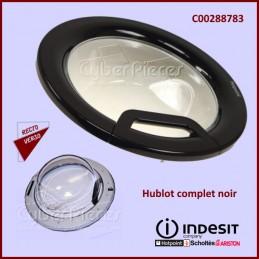 Hublot complet noir FUTURA Indesit C00288783 CYB-287852