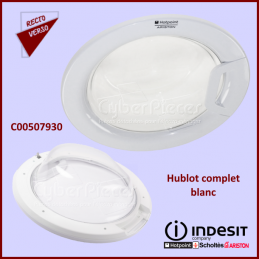 Hublot complet blanc FUTURA Indesit C00507930 CYB-255851