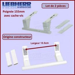 Lot de 2 poignées 155mm Origine Liebherr 9096036 CYB-276214