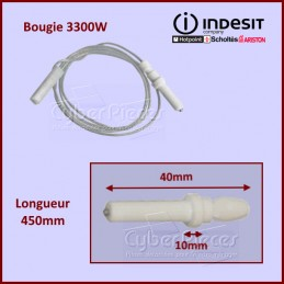 Bougie TC 3300W Indesit C00289848 CYB-178402