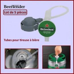 Lot de 5 Tubes pour tireuse à bière BeerTender CYB-134989