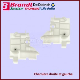 Lot de 2 charnières Brandt AS0070166 CYB-310642