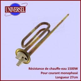 Resistance de chauffe eau 1500W Mono 27cm CYB-044851